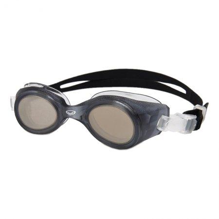 แว่นตาว่ายน้ำผู้ใหญ่โครงสร้างแบบแว่นตาชิ้นเดียว รหัส:343385