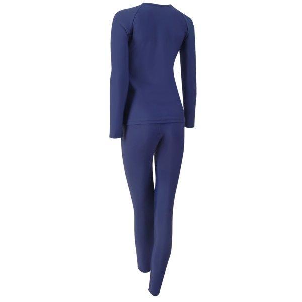 ชุดว่ายน้ำหญิงแบบกางเกงขายาว เสื้อแขนยาว รหัส : 342672 (สีกรม)