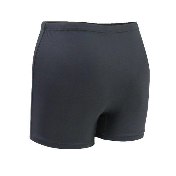 กางเกงว่ายน้ำหญิงขาสั้น สีล้วน รหัสสินค้า : 342675 (สีเทา)