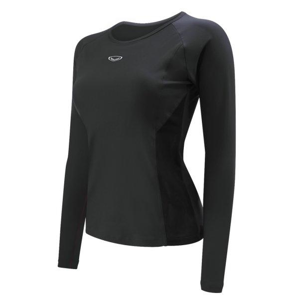 เสื้อว่ายน้ำหญิงแขนยาว รหัส : 342674 (สีดำ)