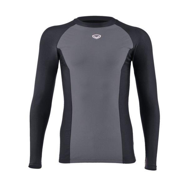 แกรนด์สปอร์ต เสื้อว่ายน้ำชายแขนยาว รหัส : 342215 (สีดำ)