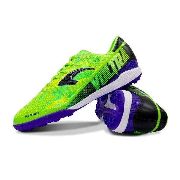 รองเท้าฟุตบอลร้อยปุ่ม รุ่น Voltra รหัส : 333098  (สีเขียว)