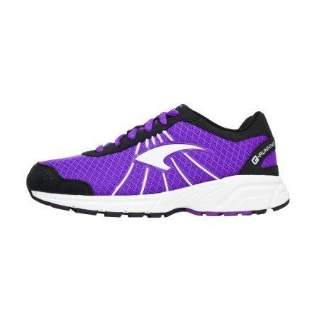 รองเท้ารันนิ่ง G.Running (สีม่วงเทา) รหัส :370028