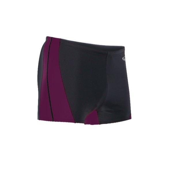 กางเกงว่ายน้ำชายขาสั้น (สีดำม่วง) รหัส : 342192