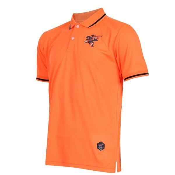 เสื้อคอปก ไทยลีก แบทเทิลบอล ด้วงกว่าง รหัส :333310 (สีส้ม)