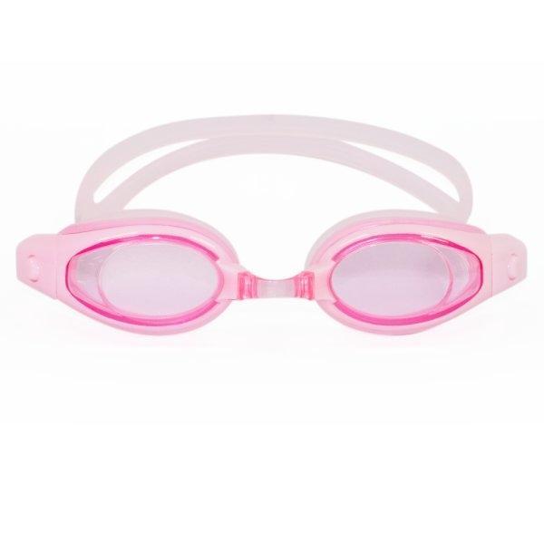 แว่นตาว่ายน้ำผู้ใหญ่ (สีชมพู) รหัส : 343398