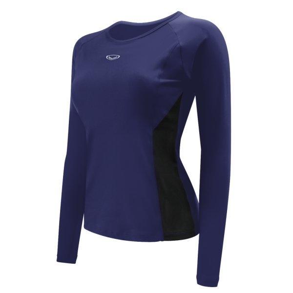 เสื้อว่ายน้ำหญิงแขนยาว รหัส : 342674 (สีกรม)
