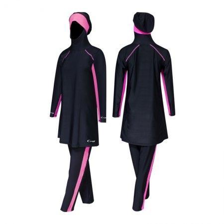 ชุดว่ายน้ำมุสลิมหญิงแบบขายาว แขนยาว รหัส :342641