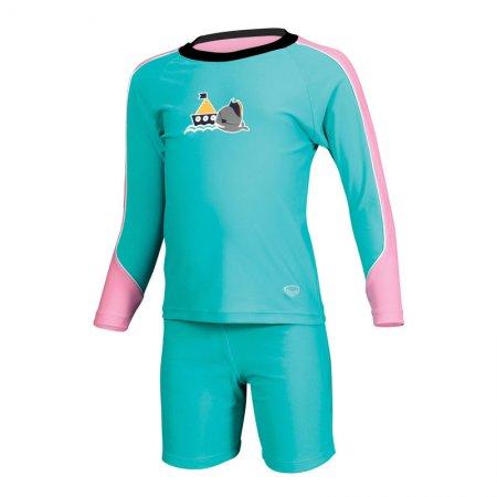 ชุดว่ายน้ำเด็กแบบ 2 ท่อน(สีเขียว) รหัส:342649