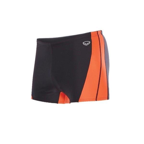 กางเกงว่ายน้ำชายขาสั้น (สีดำส้ม) รหัส : 342192