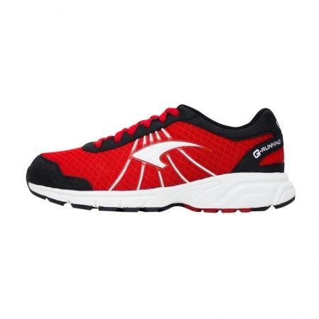 รองเท้ารันนิ่ง G.Running (สีแดงเทา) รหัส :370028