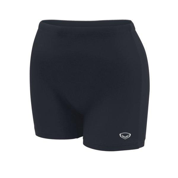 กางเกงว่ายน้ำหญิงขาสั้น สีล้วน รหัสสินค้า : 342675 (สีดำ)