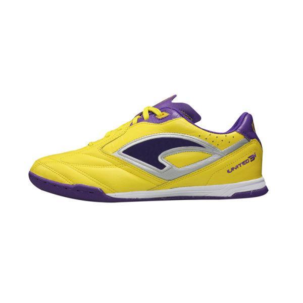 รองเท้าฟุตซอลแกรนด์สปอร์ต รุ่น GRAND UNITED 3i รหัส:337004 (สีเหลือง)