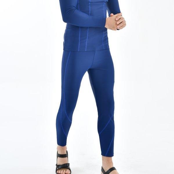 กางเกงว่ายน้ำชายขายาว รหัสสินค้า : 342223 (สีน้ำเงิน)