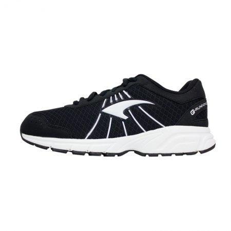 รองเท้ารันนิ่ง G.Running (สีดำเทา) รหัส :370028