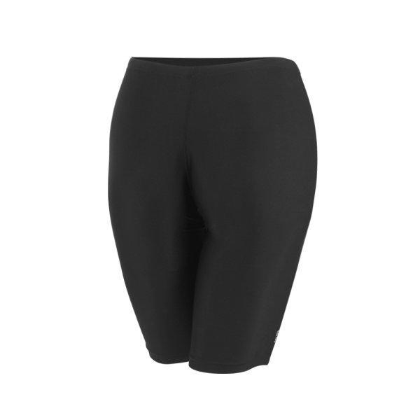 กางเกงว่ายน้ำหญิงขาสามส่วน สีล้วน รหัสสินค้า : 342676 (สีดำ)