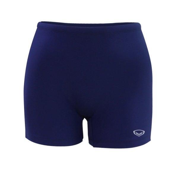 กางเกงว่ายน้ำหญิงขาสั้น สีล้วน รหัสสินค้า : 342675 (สีกรม)