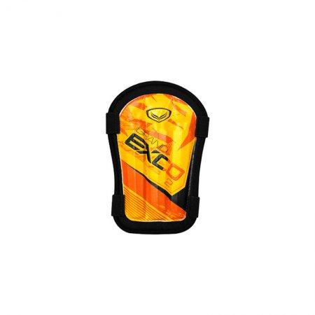 สนับแข้งผ้า PVC-EXCO (สีส้ม) รหัส:373088
