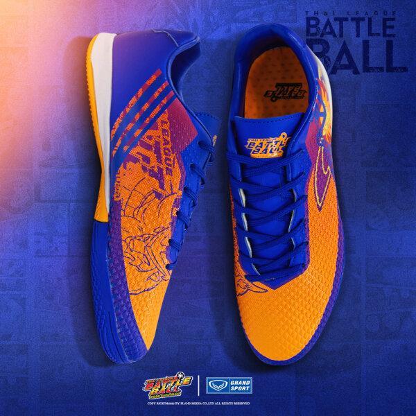 รองเท้าฟุตซอลรุ่นแบทเทิล รหัส : 337026 (สีส้มกรม)