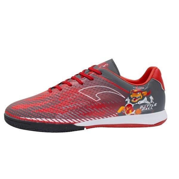 รองเท้าฟุตซอลรุ่นแบทเทิล รหัส : 337026 (สีแดงกรม)