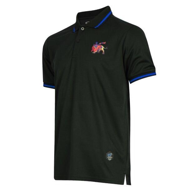 เสื้อคอปก ไทยลีก แบทเทิลบอล สิงห์ รหัส :333308 (สีดำ)