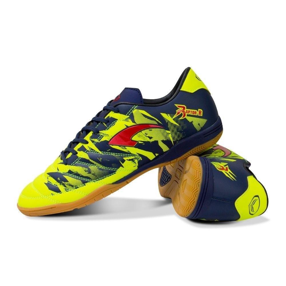 รองเท้าฟุตซอลรุ่น RAPT0R R Kid รหัส: 337019 (สีเขียว)