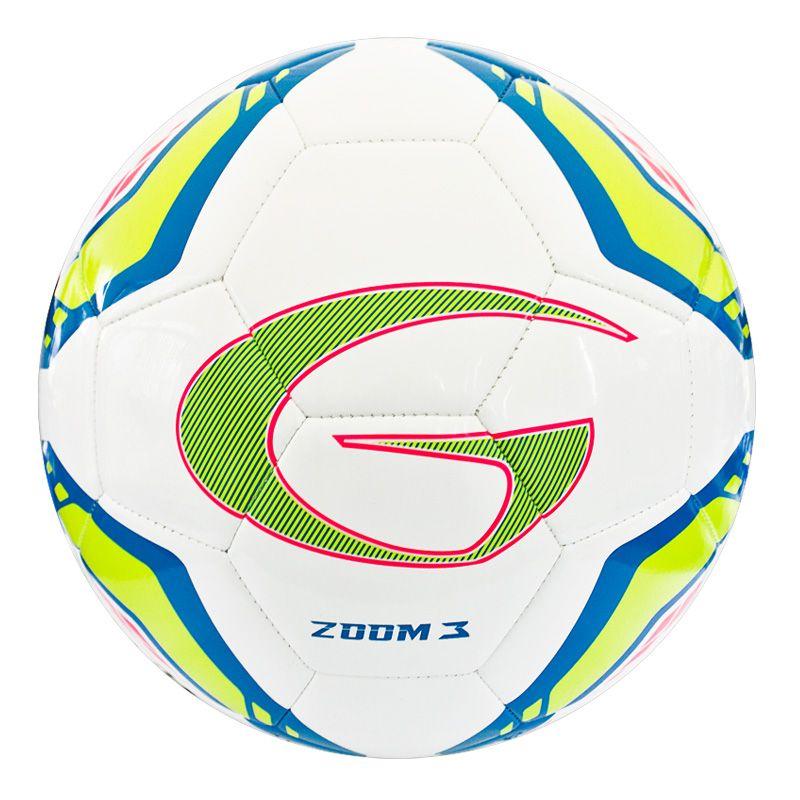 ลูกฟุตบอลเย็บเครื่อง ZOOM 3#5TPU(สีฟ้า) รหัส:331366