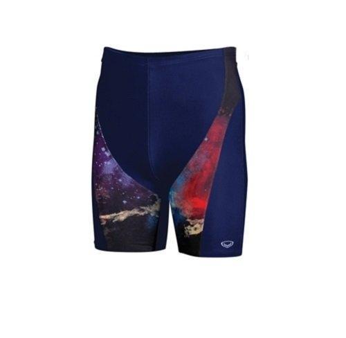 กางเกงว่ายน้ำชายขา 3 ส่วน(สีกรม) รหัส : 342195