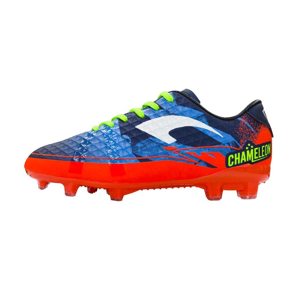 รองเท้าฟุตบอลเด็กแกรนด์สปอร์ต รุ่น คะมีเลี่ยน Kids รหัส :333085(สีกรมส้ม)