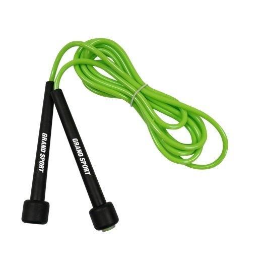 GS เชือกกระโดด สายด้ามพลาสติก รหัส : 377064 (สีเขียว)