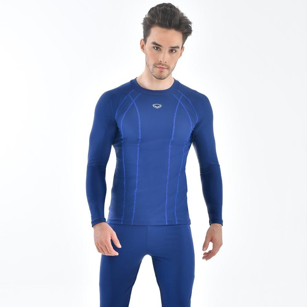 เสื้อว่ายน้ำชายแขนยาว รหัส : 342224 (สีน้ำเงิน)