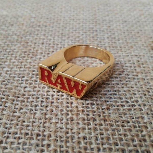 แหวน RAW Gold Ring - Size: 6/7/9