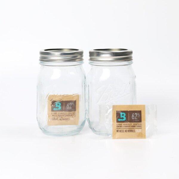 Ball Mason Jar 2 with Boveda 62% 4g x2