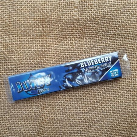 กระดาษมวน Juicy Jay Flavoured Papers - Blueberry