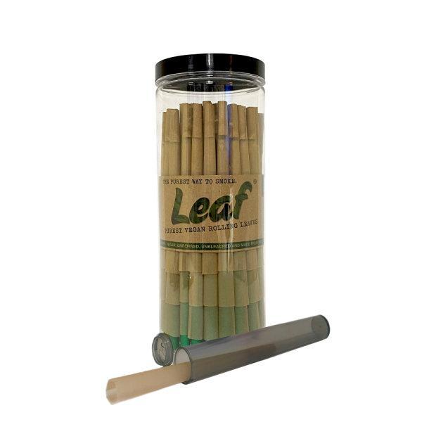 กระดาษมวน สำเร็จ Leaf Pre-Rolled Cones King Size Slim - 100 pcs. ฟรีTube