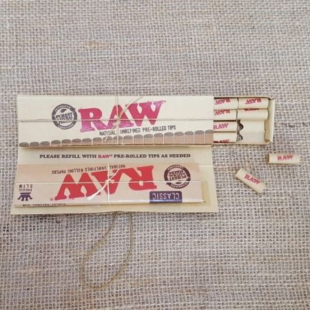 กระดาษมวน RAW Classic Connoisseur KSS & Pre-Rolled Tips