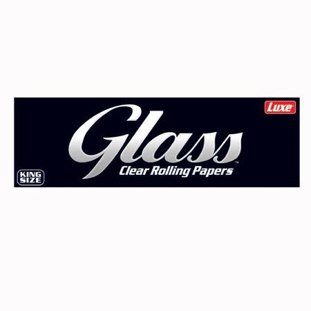 กระดาษมวน Glass - Clear Rolling Papers - 40 Leaves