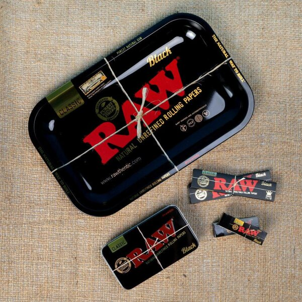โปรโมชั่น - RAW Tin Box Black Set Promotion 3