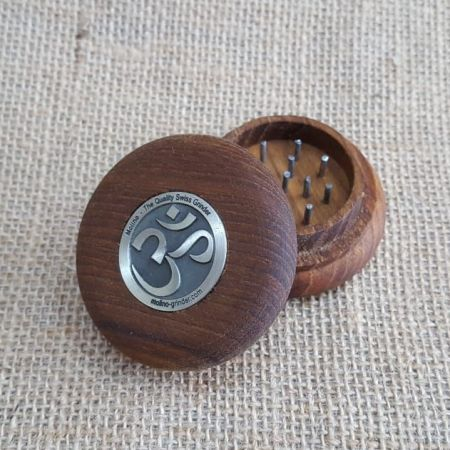 เครื่องบด Tobacco Teak Wood Grinder - Ohm