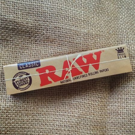 กระดาษมวน RAW Classic King Size Slim - 32 Leaves