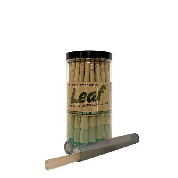 กระดาษมวน สำเร็จ Leaf Pre-Rolled Cones King Size Slim - 50 pcs. ฟรีTube