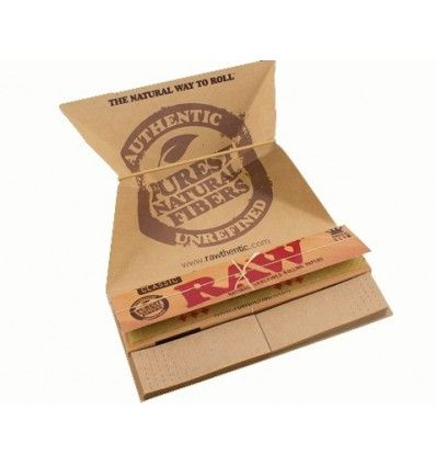 กระดาษมวน RAW Classic Artesano King Size Slim Tray & Tips - 32 Leaves