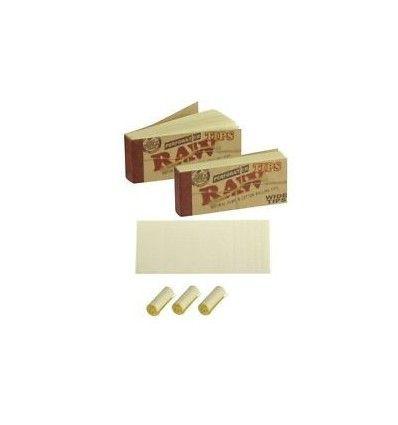 ก้นกรองกระดาษ RAW Tips Wide - 50 Tips