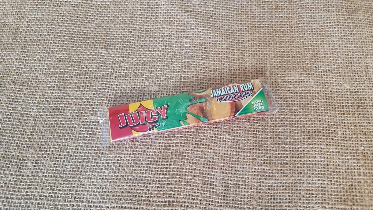 กระดาษมวน Juicy Jay Flavoured Papers - Jamaican Rum