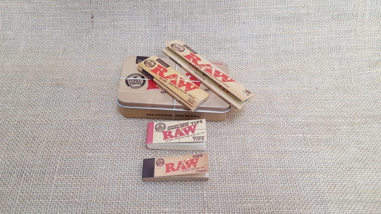 โปรโมชั่น - RAW Tin Box Set