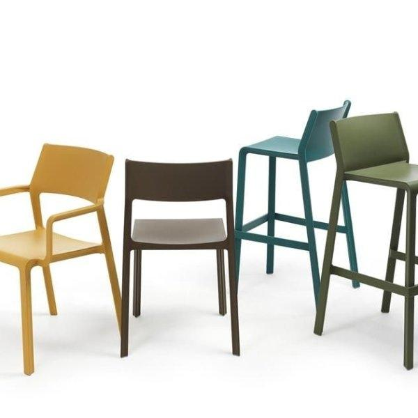 NARDI เก้าอี้ Trill Stool - High Stool