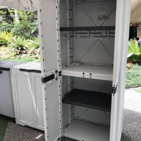 ตู้เก็บของ Magix Cabinet สีเทาอ่อน (ลด 30%)