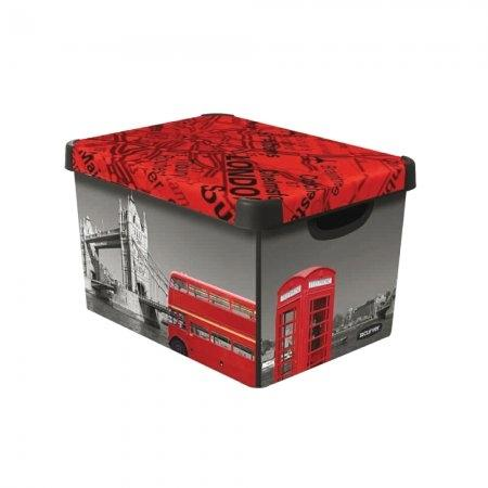 กล่องเก็บของ DECO STOCKHOME (L) London (ลด70%)