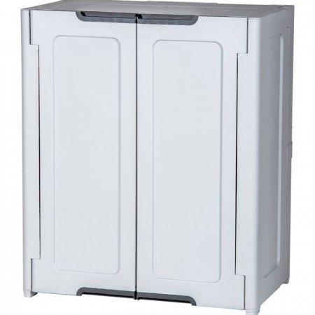ตู้เก็บของ Magix Cabinet สีเทาอ่อน (ซื้อคู่ 2 ตัวถูกกว่า)