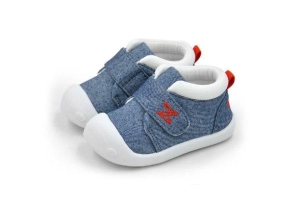 รองเท้าหัดเดินเด็ก D18 ยีนส์
